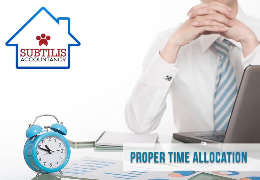 proper-time-allocation