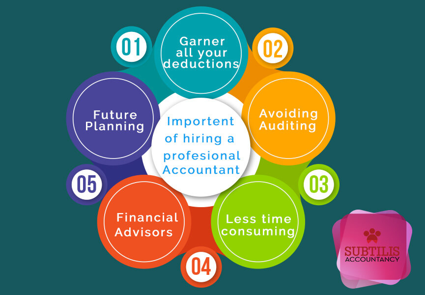 Importance of hiring a Professional Accountant